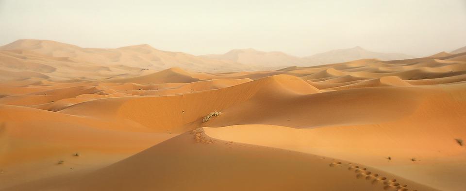 De nuevo perdido entre mares de arena…Ahora, Marruecos.
