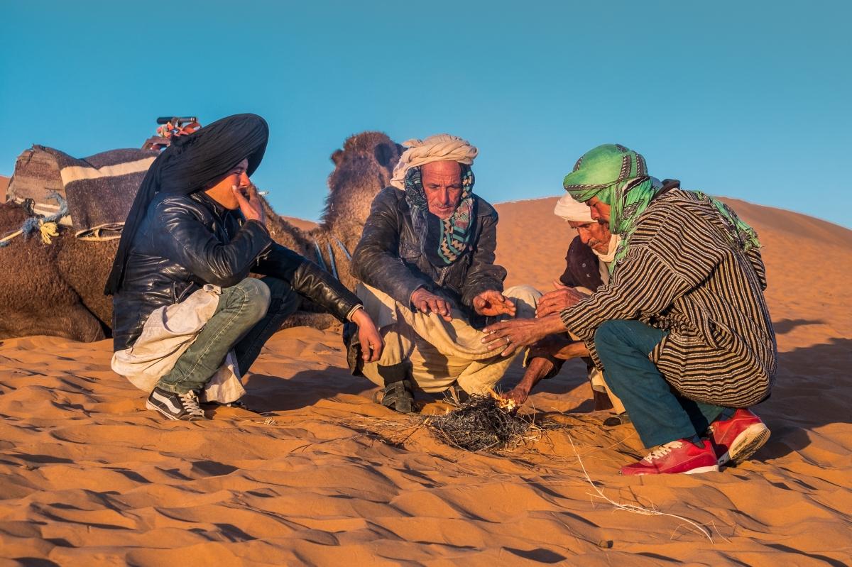 Vivir bereber...vivir en el desierto.